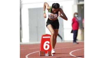 La joven atleta alcalaína repasa en Soy de Alcalá su pasión por los 400 metros lisos, sus objetivos y la salud del atletismo