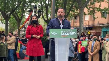 """VOX acude a Leganés para dar uno de sus famosos mítines y arremeter contra el Gobierno """"comunista"""""""