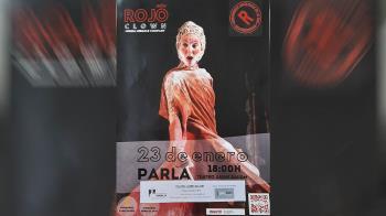 'Rojo' es el primer trabajo de la clown Mireia Miracle