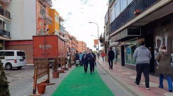 Peatonalización Calle Real en San Sebastián de los Reyes