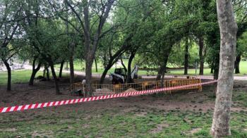 La extensión del recinto será de 600 metros cuadrados y además tendrá papeleras y fuentes para su uso