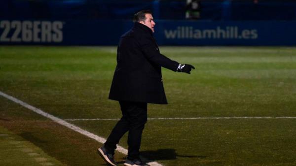 Sandoval deja de ser entrenador del CF Fuenlabrada