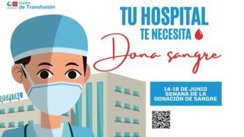 El municipio se ha sumado a la campaña 'Semana de la donación de sangre: Tu hospital te necesita' para recuperar el nivel de sangre previo a la pandemia