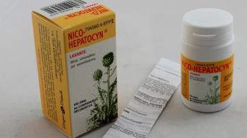 Sanidad ha ordenado devolver al laboratorio 18 lotes de Nico-hepatocyn