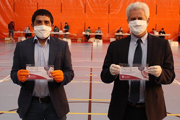 Hasta 250.000 mascarillas reutilizables se repartián desde el 1 de mayo
