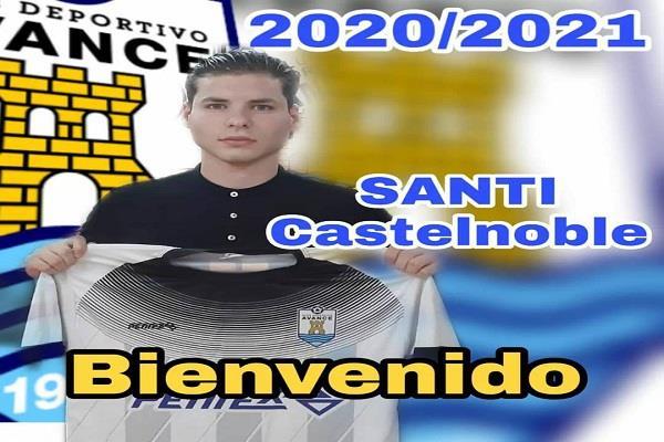 Santi Castelnoble ficha por el CD Avance para la temporada 2020/21
