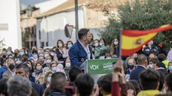 """Abascal : """"No nos van a callar ni en Vallecas ni en Navalcarnero ni en tierra vasca"""""""