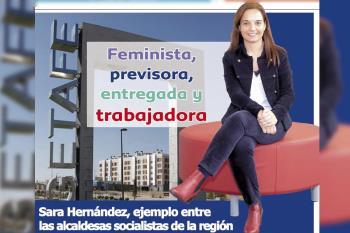 La alcaldesa de Getafe apuesta por el futuro del municipio más allá del coronavirus