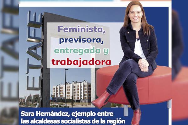 Sara Hernández, un ejemplo entre las alcaldesas socialistas de la región