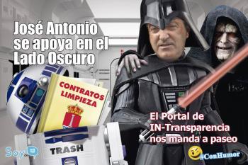 El portal de transparencia rechaza la petición de Soyde. para acceder a los contratos de los contenedores soterrados