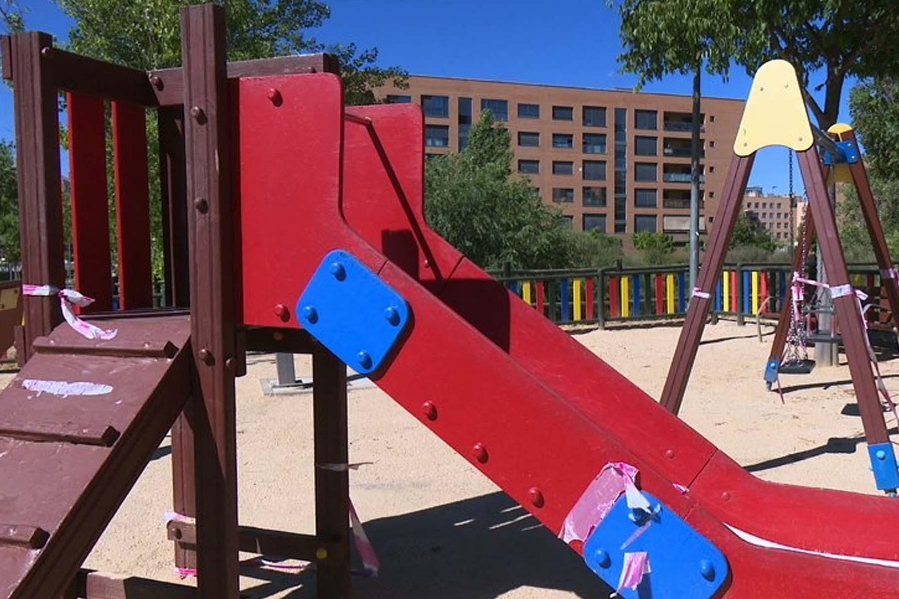 Las areas infantiles, espacios públicos deportivos y areas biosaludables permanecerán clausuradas
