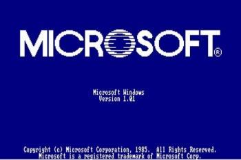El sistema operativo  Windows es ahora el más famoso y usado en el mundo, pero no siempre fue así