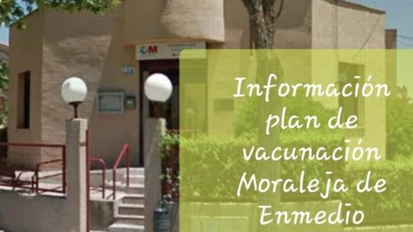 Se inicia la vacunación en Moraleja de Enmedio para el grupo de 75 a 79