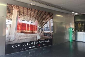 El objetivo es atraer a los visitantes que llegan a Alcalá a través de la Estación de La Garena