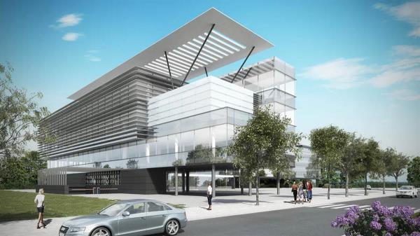 El edifico tendrá 261 plazas de aparcamiento