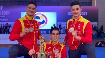 El karateca sanfernandino logró una nueva medalla representando a nuestro país