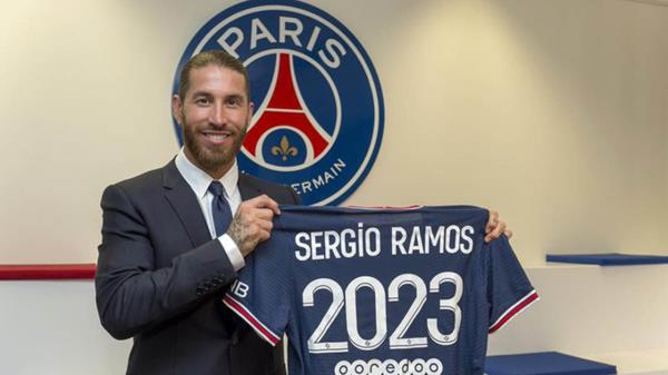 El central es nuevo jugador del París Saint-Germain tras su salida del Real Madrid