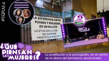 Dos integrantes de la Asamblea Abolicionista de Madrid comparten su planteamiento sobre la pornografía y la prostitución