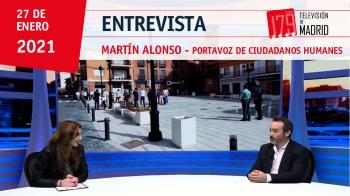 El portavoz de Ciudadanos en Humanes, Martín Alonso, valora su papel en la oposición y presenta las propuestas del grupo
