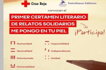 El presidente comarcal de Cruz Roja y el responsable de Entrelíneas Editores nos hablan sobre elI Premio Literario