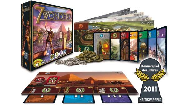 Seven Wonders es un juego rápido, divertido y dinámico