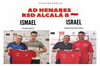 Ismael Ruiz e Israel López son los nuevos fichajes del equipo rojillo