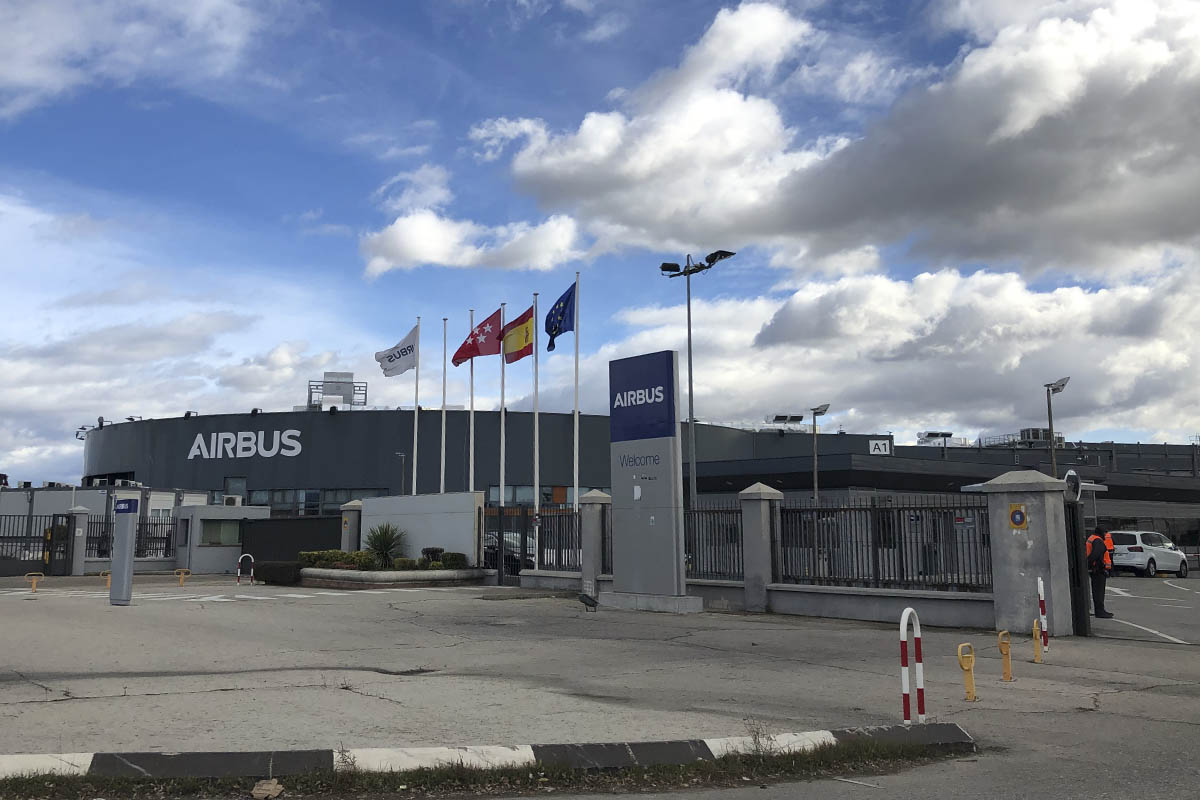 """""""Existe una veintena de positivos por COVID19"""", """"Cada día acudimos miles y miles de trabajadores a los centros de Airbus"""""""