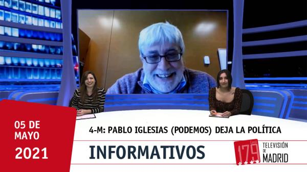 """Sobre Pablo Iglesias: """"No estamos acostumbrados a que los líderes se aparten tras malos resultados"""""""