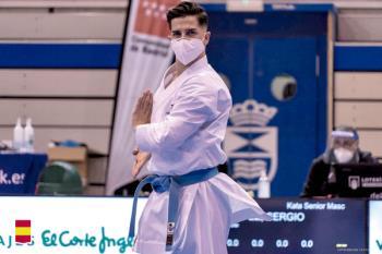 El sanfernandino fue plata en la segunda jornada de la Liga Iberdrola de Karate