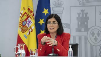 Así lo ha asegurado hoy Carolina Darias, ministra de Sanidad