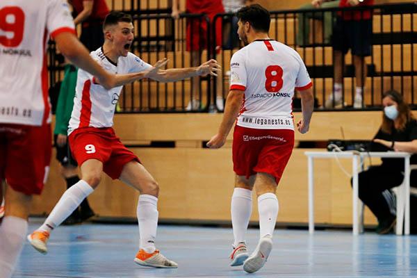 El C.D. Leganés Fútbol Sala gana la final del play-off de ascenso frente al Gran Canaria