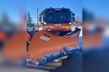 Este cuerpo esta ayudado en varios municipios a paliar los estragos de la nevada