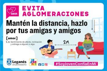 El Ayuntamiento de Leganés ha lanzado esta campaña dirigida a la juventud en RRSS