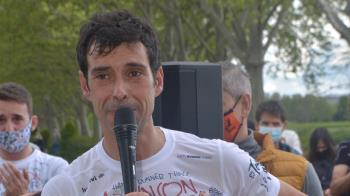 Corrió 200 kilómetros en 24 horas para visibilizar el Parkinson