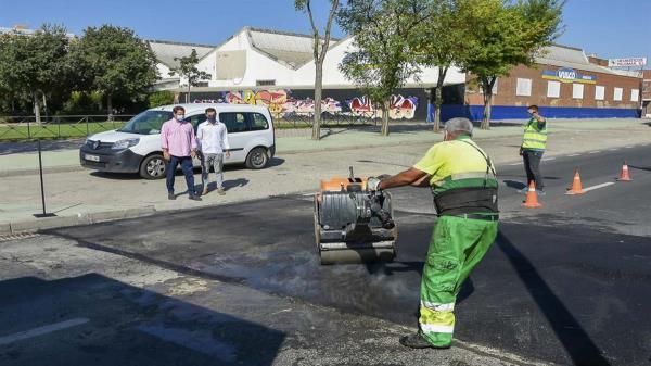 La actuación se ha realizado a petición de los vecinos por el impacto negativo sobre los vehículos