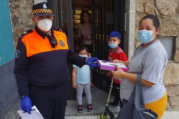 """Concejalía de Educación y Seguridad Ciudadana se han coordinado para """"no dejar a nadie atrás"""""""
