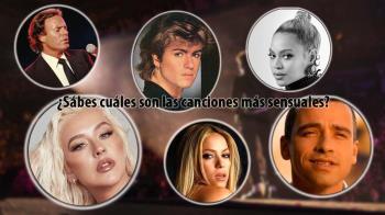 Estas son las 15 canciones y cantantes más sensuales