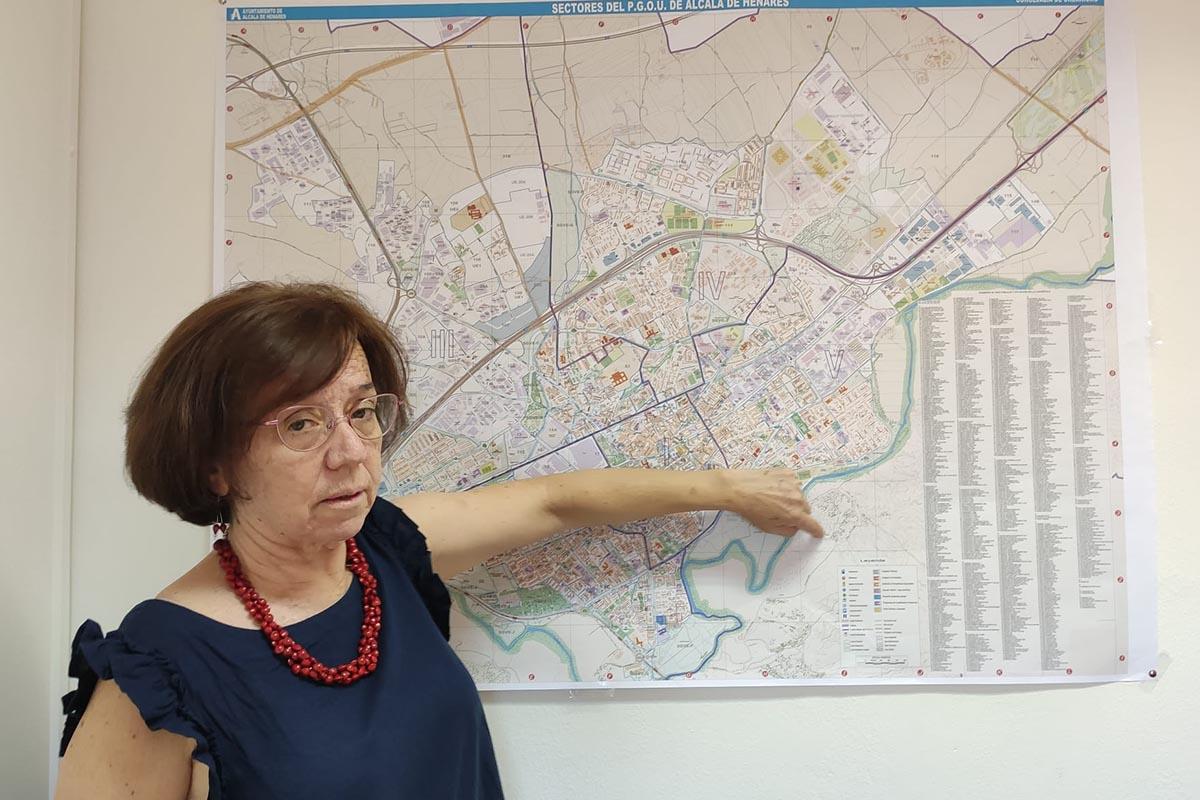 La portavoz de Podemos afirma que vecinos asociaciones y sindicatos pueden presentar un modelo de ciudad con una mirada ecologista, feminista y con un modelo productivo de futuro