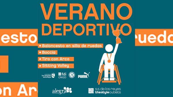 Este sábado 17 de julio, en colaboración con el Ayuntamiento de S.S. de los Reyes y la Fundación FDI, el centro realizará actividades deportivas inclusivas como baloncesto en silla de ruedas, boccia, tiro con arco y sitting volley
