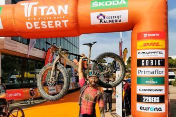 El torrejonero ha conseguido acabar la Titan Desert por segundo año consecutivo