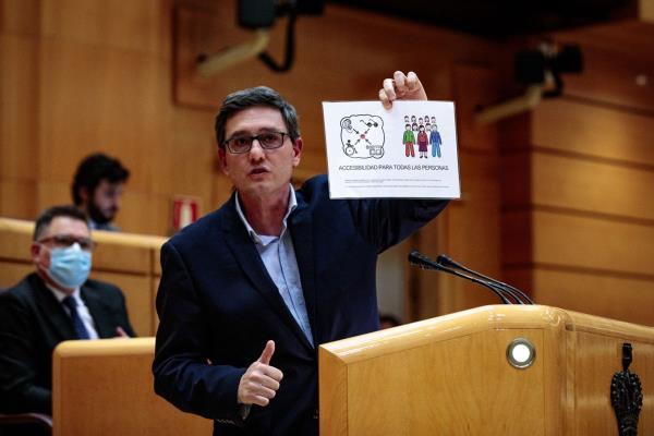 """Tomás Marcos: """"Si no hay accesibilidad cognitiva, no hay libertad"""""""