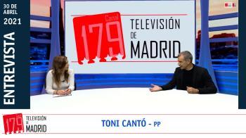 """Toni Cantó: """"Pablo Iglesias ha sido una de los personajes más nocivos de la democracia española"""""""
