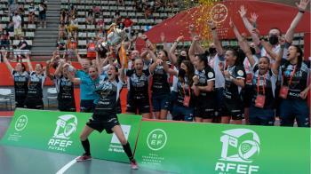 Se disputaron los playoffs por el título de Liga de Primera RFEF y la Copa de España juvenil Masculina
