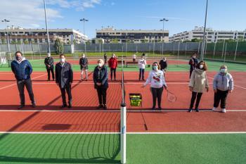 El consistorio ha renovado su convenio de colaboración con la Fundación del Tenis Madrileño