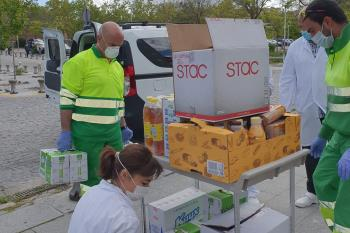 Las tres entidades son; Cruz Roja Alcorcón, Asociación PAMA (Proyecto de Ayuda al-la menor de Alcorcón) y la Red de Solidaridad Popular de Alcorcón