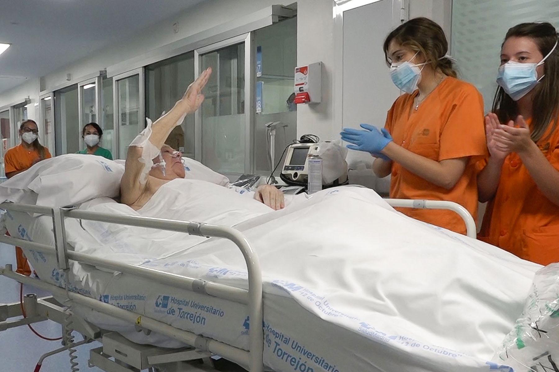Es el paciente que mas ha permanecido en la UCI en España.