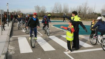 El Parque de Educación Vial del Edificio de Policía abrirá sus puertas para que los niños practiquen las normas de circulación