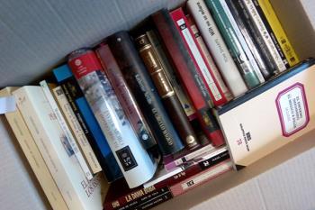 Alcobendas ya entregó la semana pasada 250 libros al hospital de campaña de IFEMA
