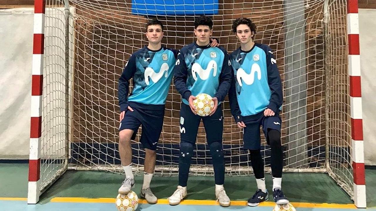 Mario Gómez, Eloy de Pablos y Juan Mardomingo podrían representar a nuestro país en sus diferentes categorías
