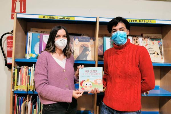 Tres nuevos libros se quedan a vivir en la Biblioteca Municipal de Arroyomolinos